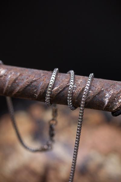AFTER DUST – שרשרת חוליות צפופות מפלדה