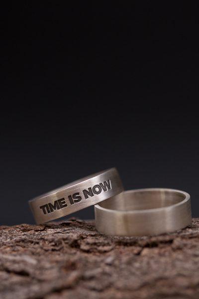 טבעת כסף לגבר עם משמעות