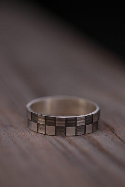 טבעת מיוחדת מכסף