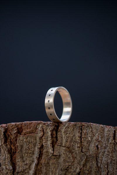 טבעת יוניסקס מכסף