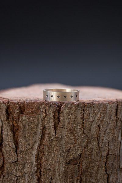 טבעת יוניסקס חריטה