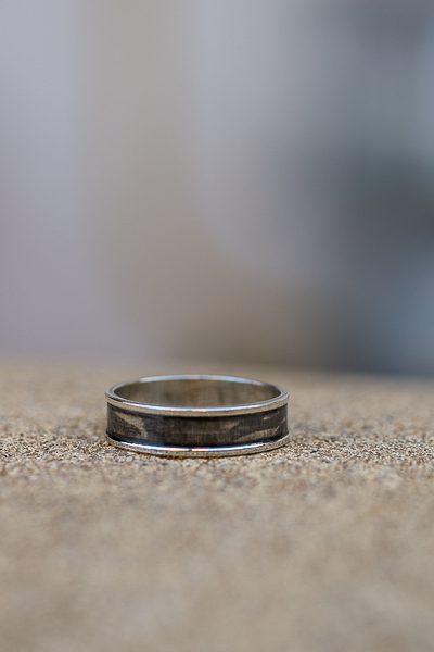 טבעת כסף מיוחדת