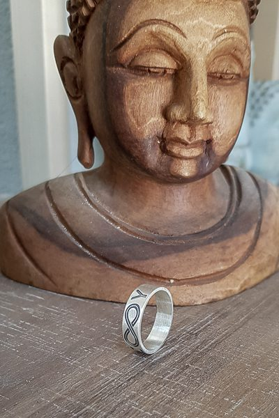 טבעת אינסוף לגבר